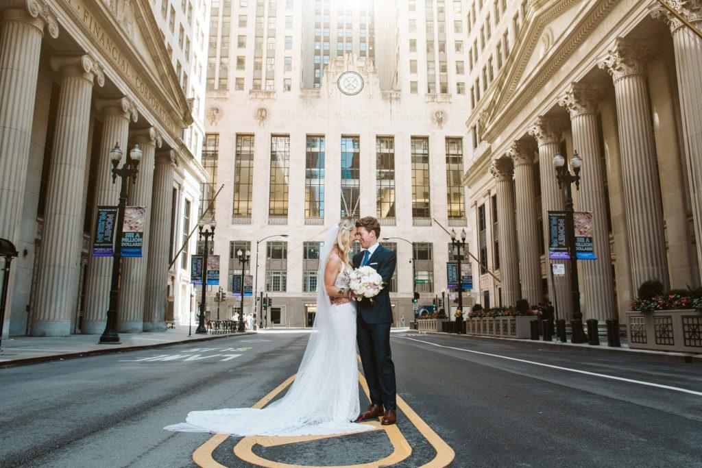 Chicago Board of Trade Wedding