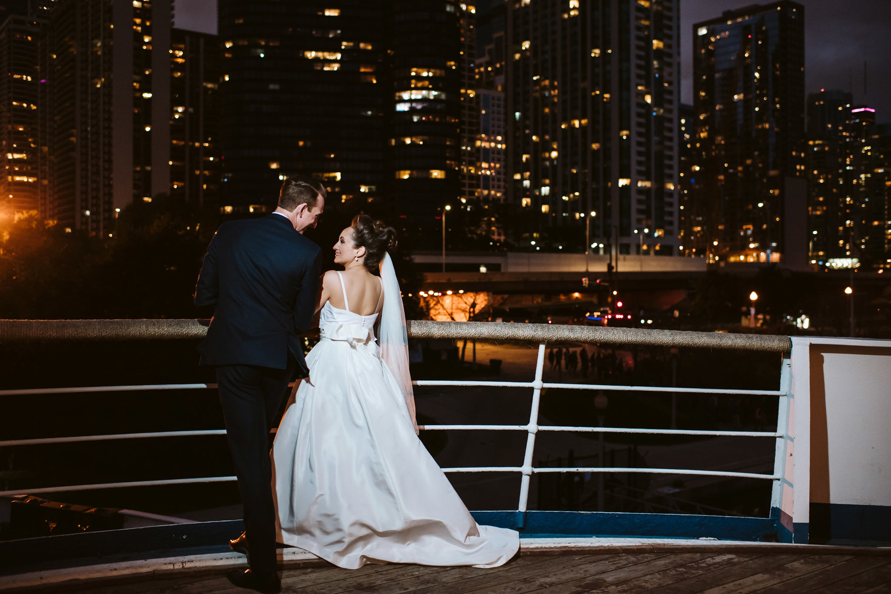 Columbia Yacht Club Wedding