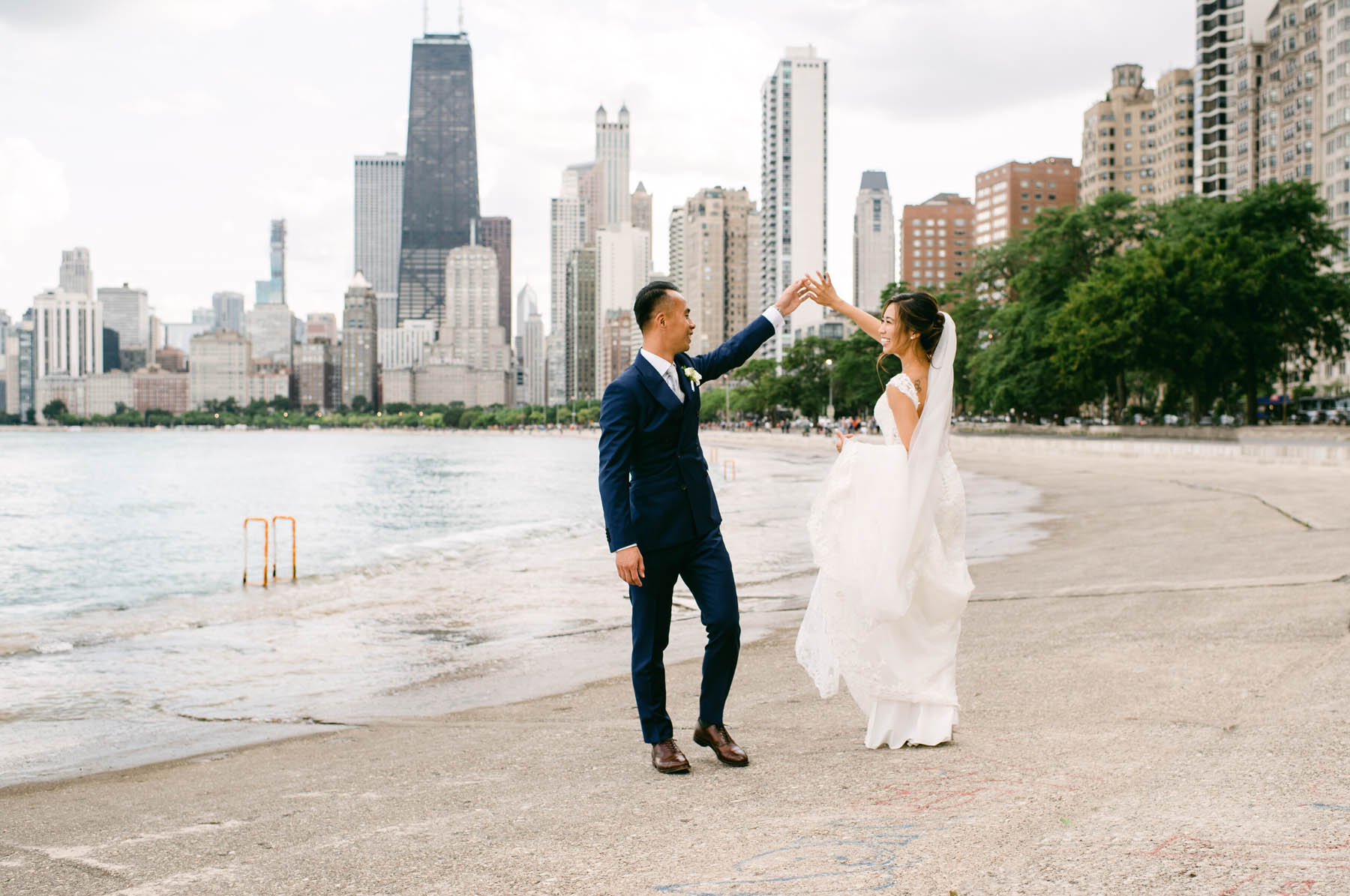 North Avenue Beach Wedding