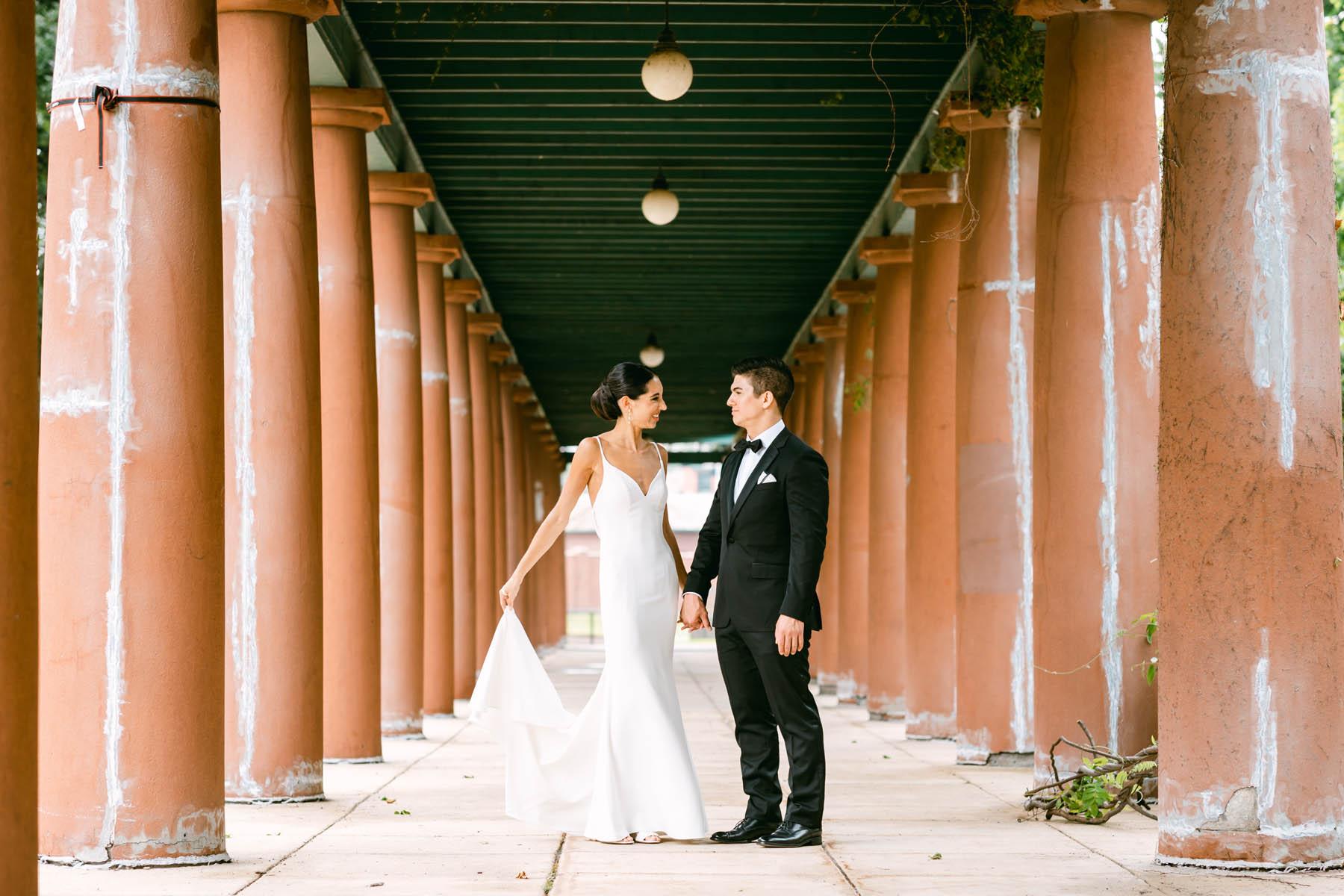 South Shore Cultural Center Wedding