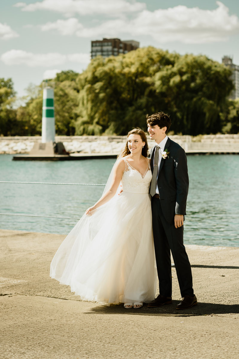 Montrose Harbor Wedding