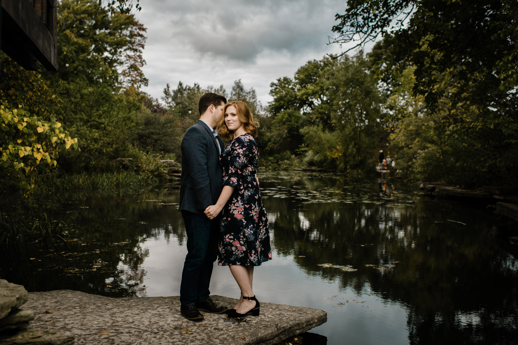 Lilly Pond Engagement