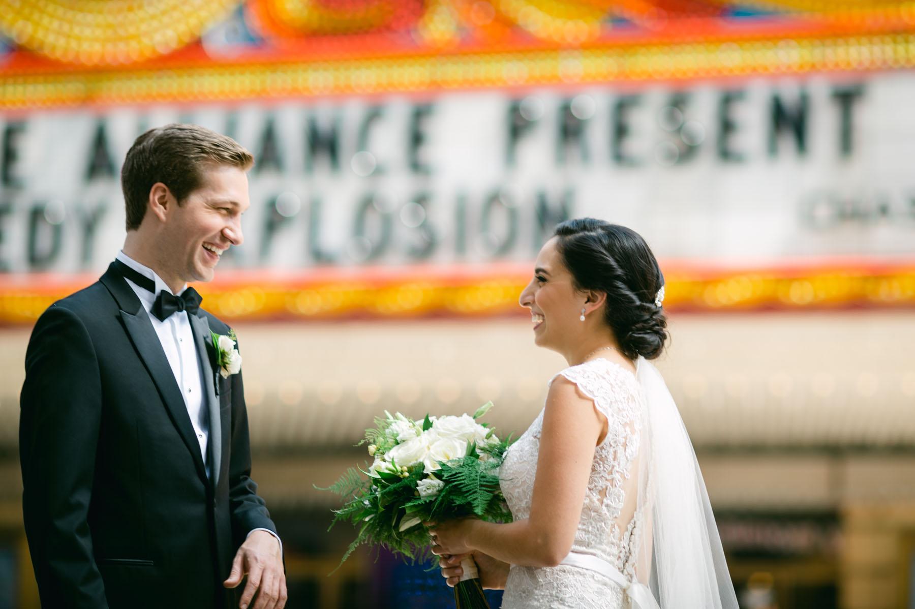 Chicago Theater Wedding