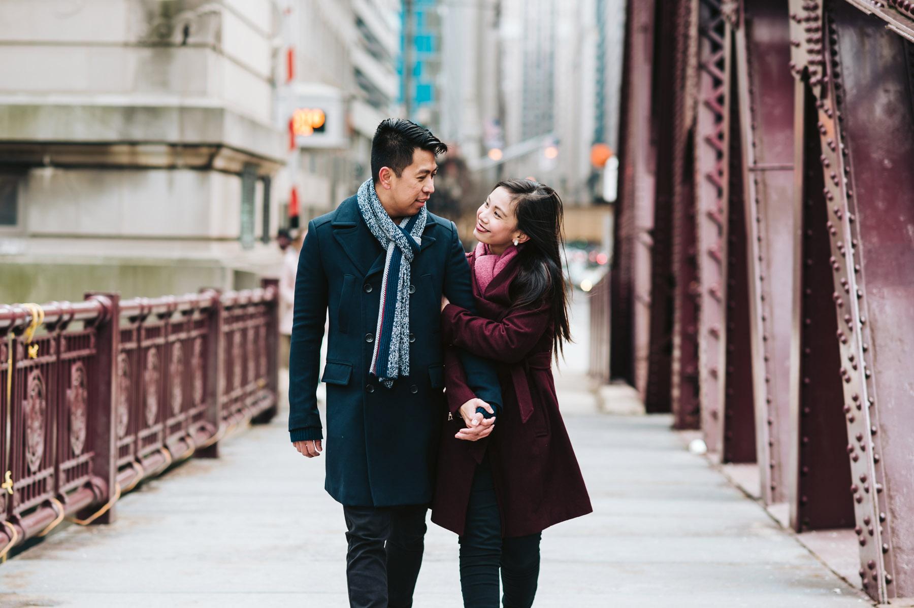 Chicago Winter Engagement