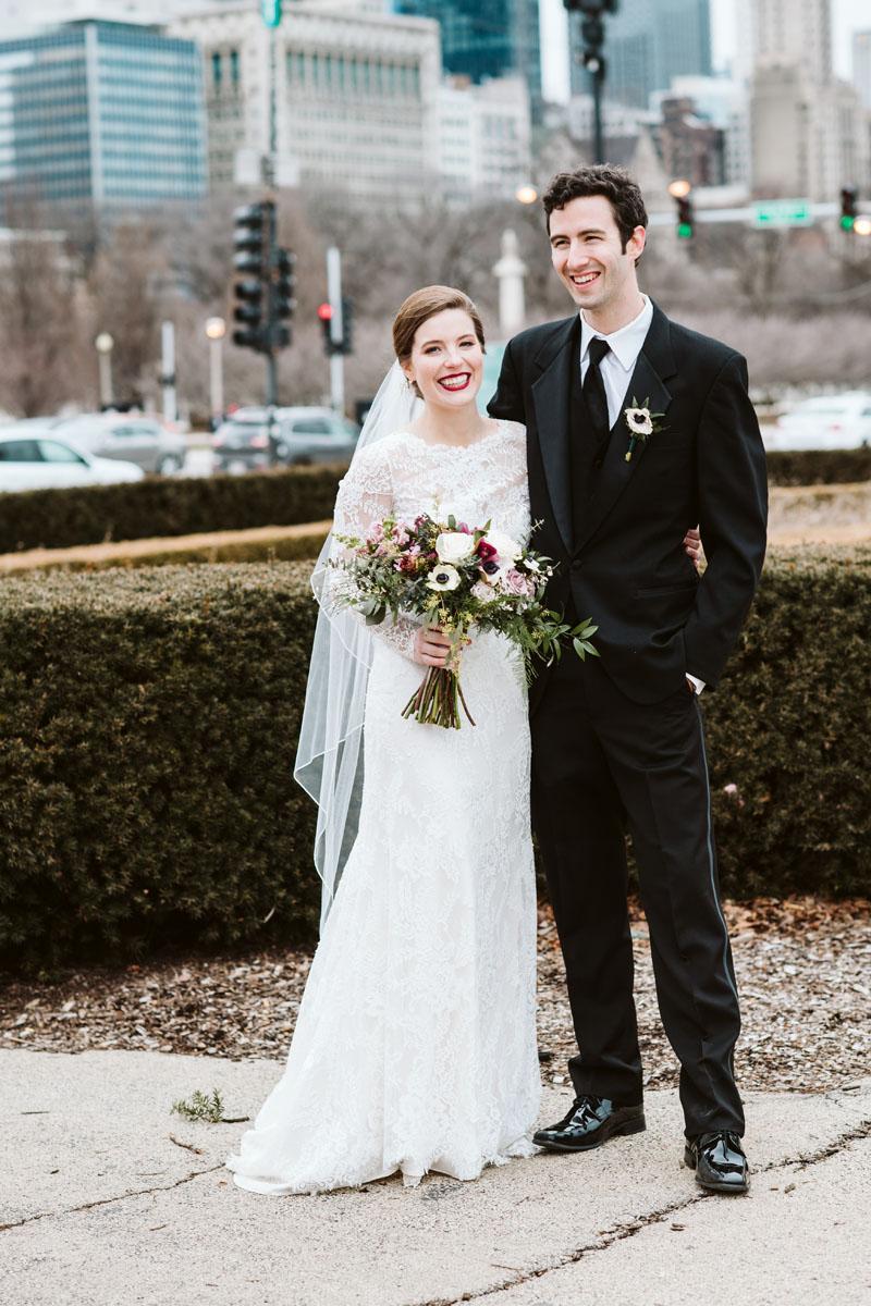 Chicago Grant Park Wedding