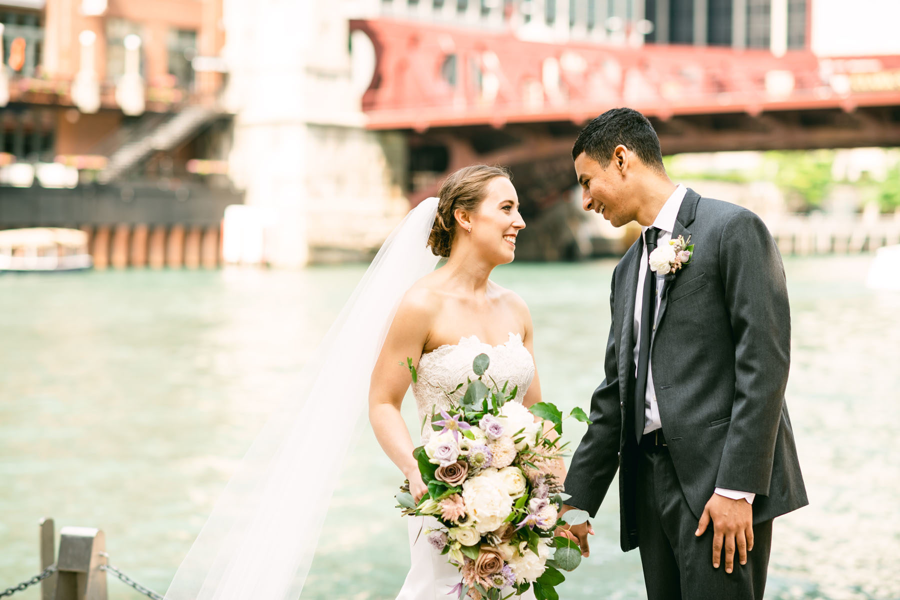 Chicago Rivewalk Wedding