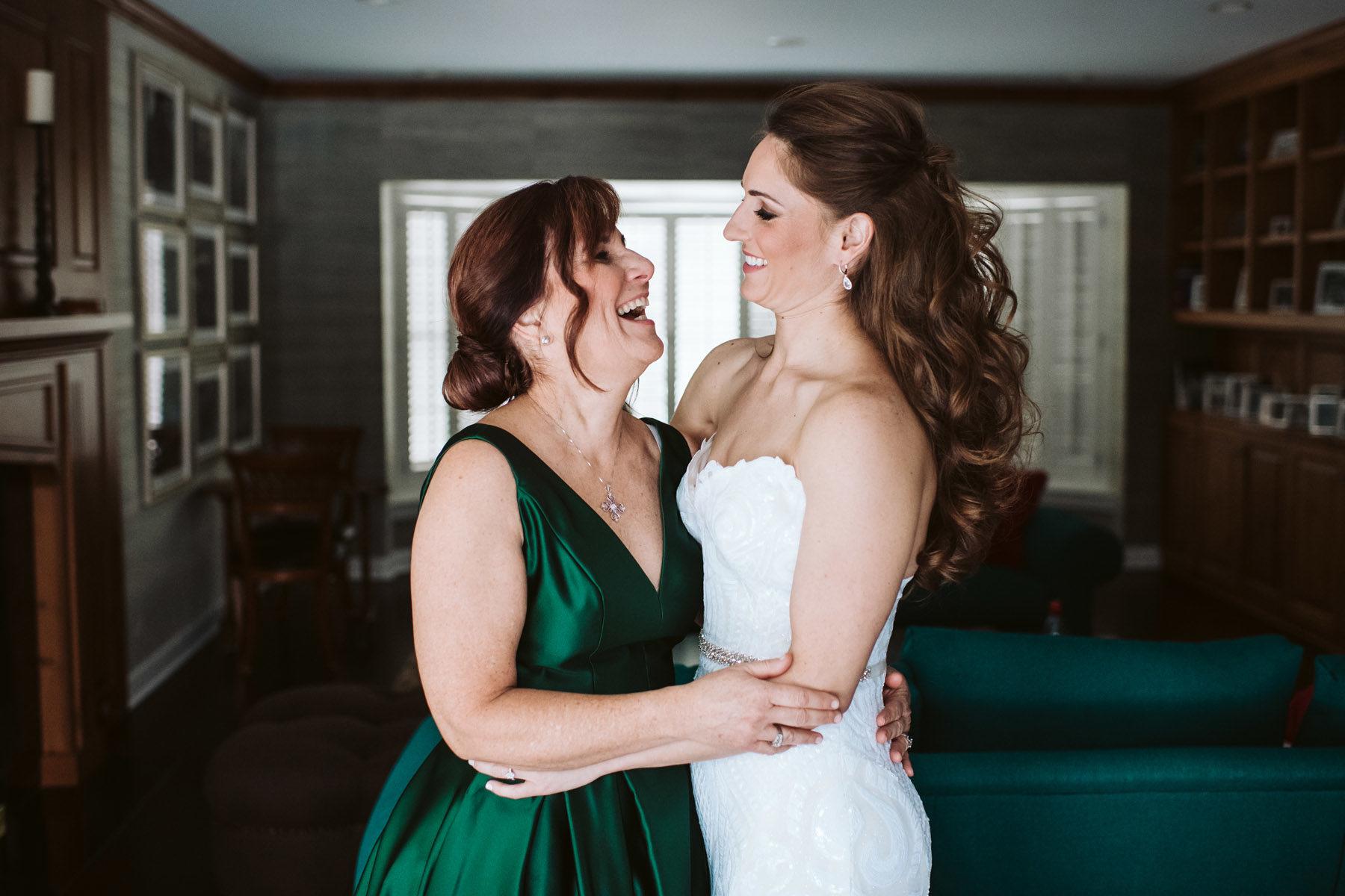 Bride + Mom