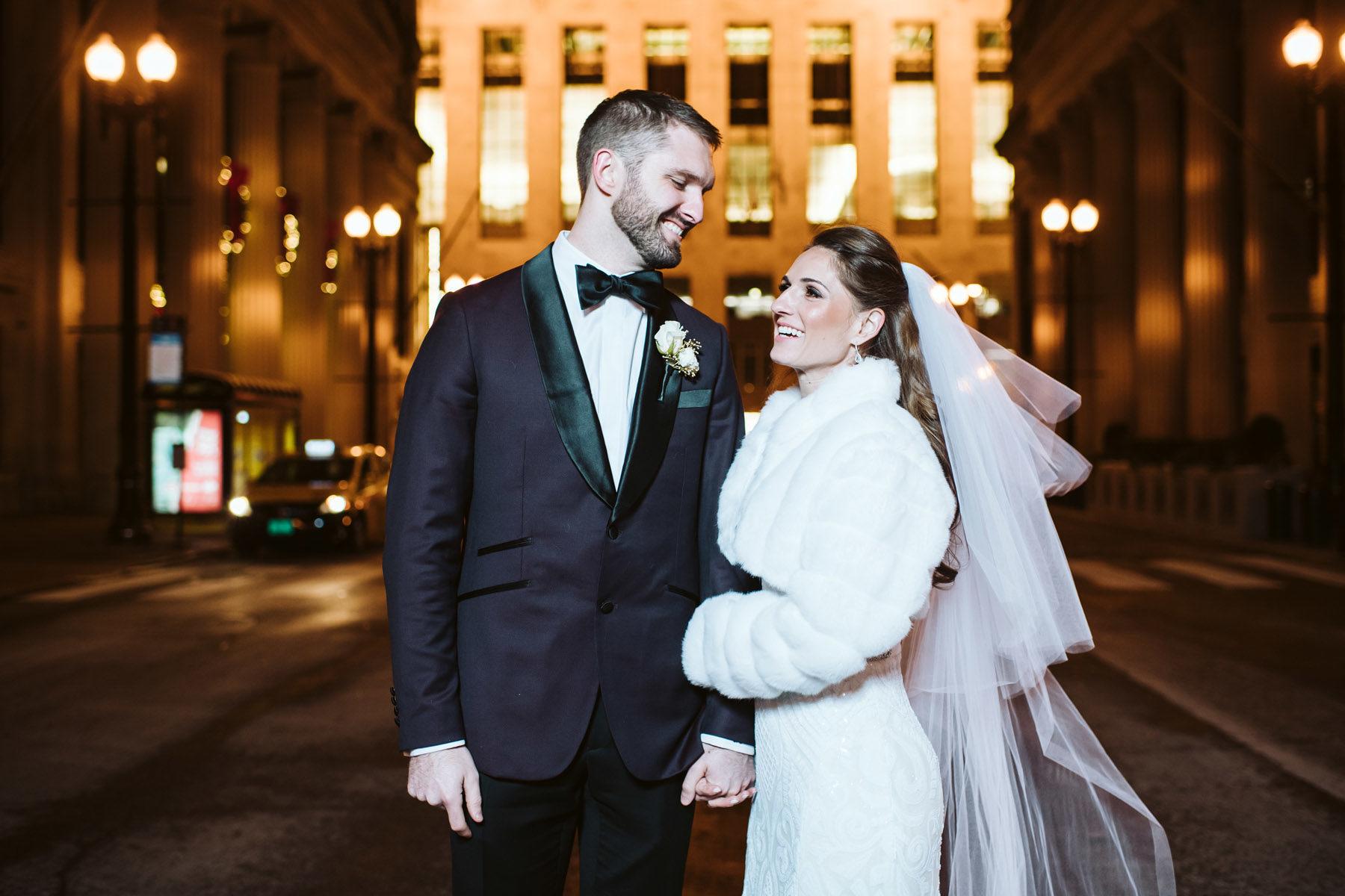 Chicago Board of Trade  Wedding Photo