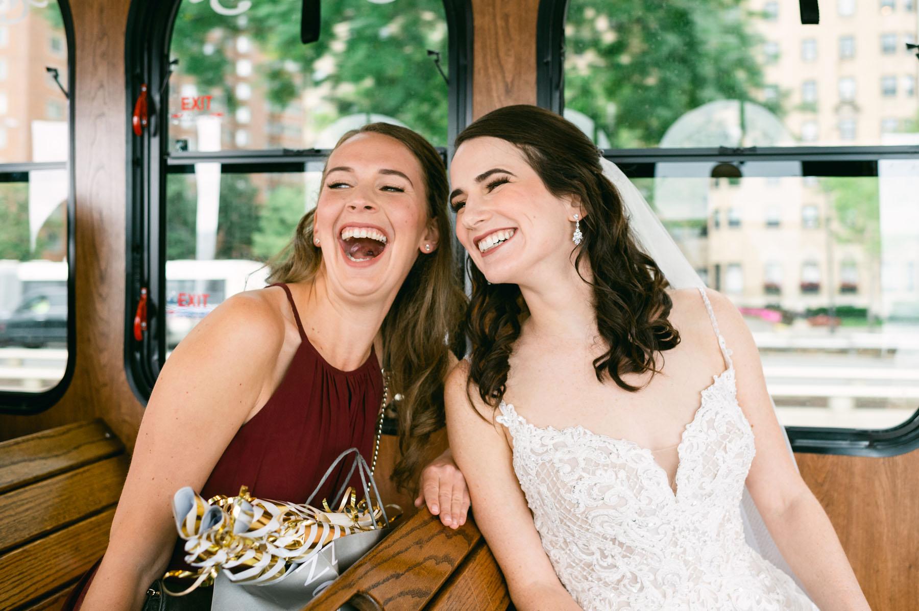 Chicago Wedding Trolley