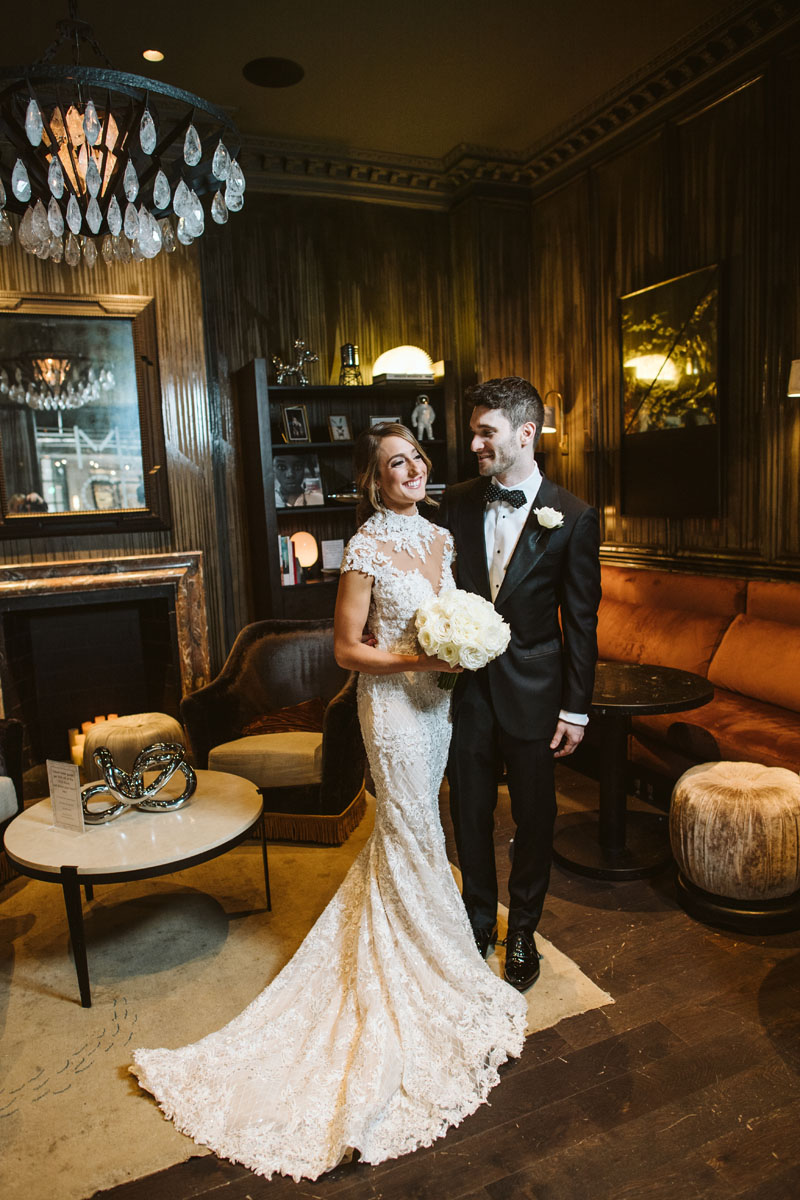 Talbott Hotel Wedding