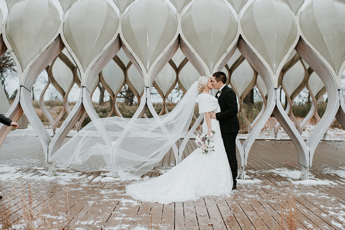 Lincoln Park Pond Wedding