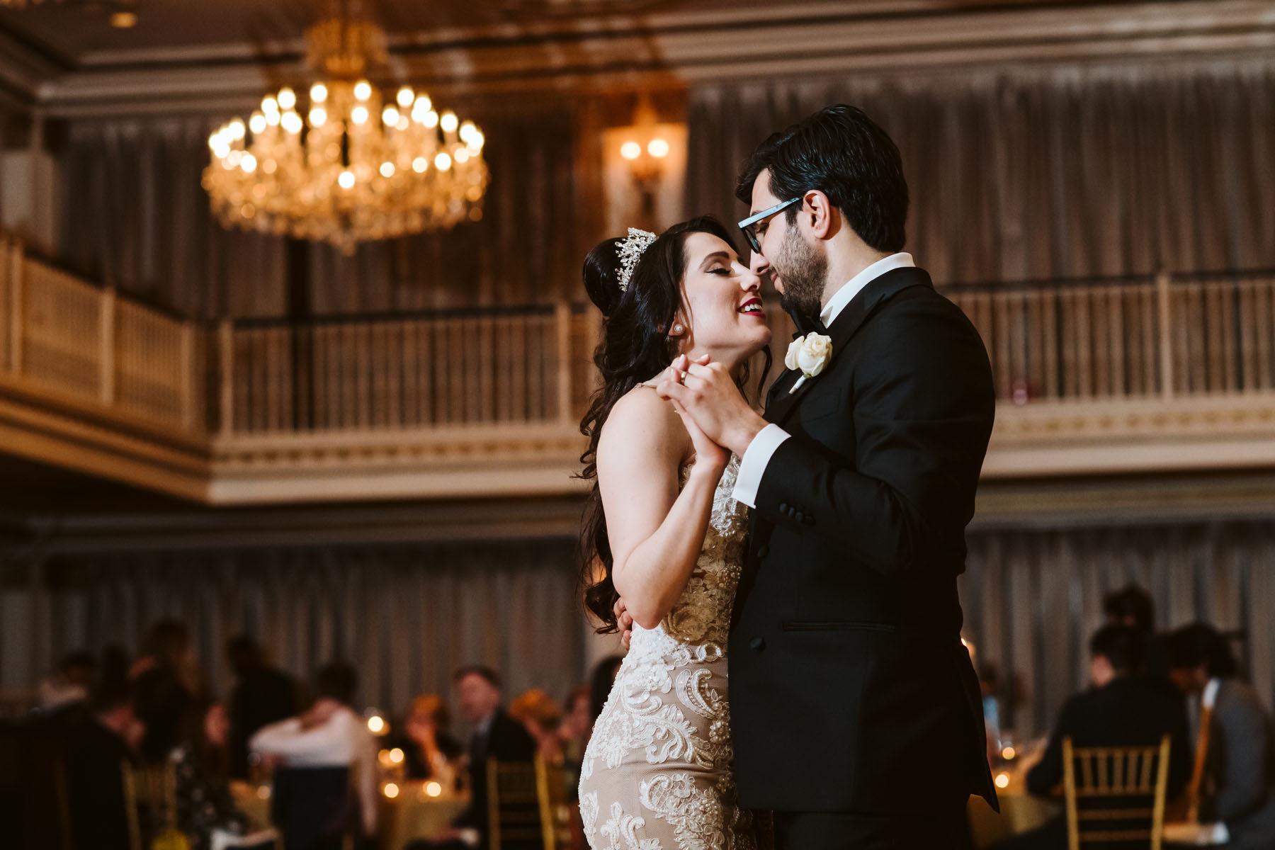 Drake Hotel Wedding, Cassandra + Samir