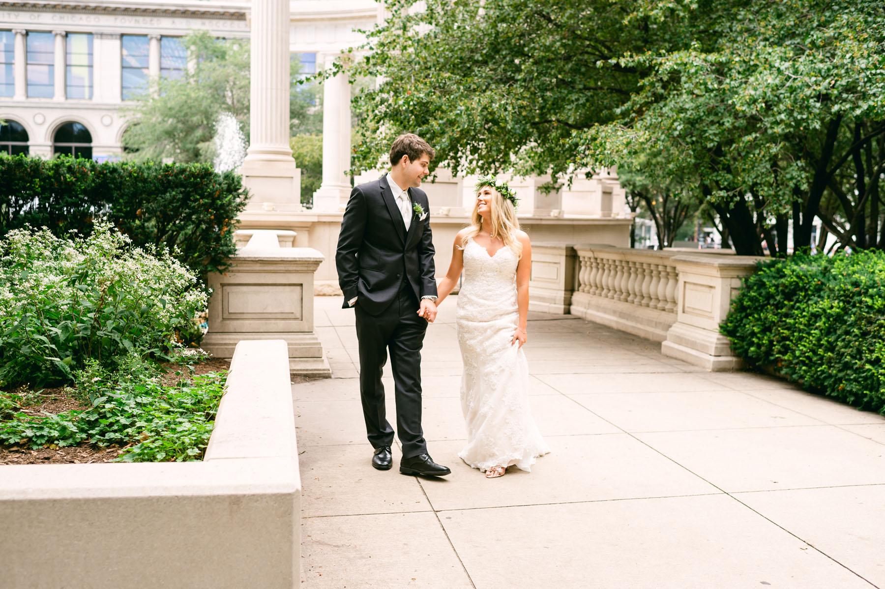 Chicago Millennium Park Wedding