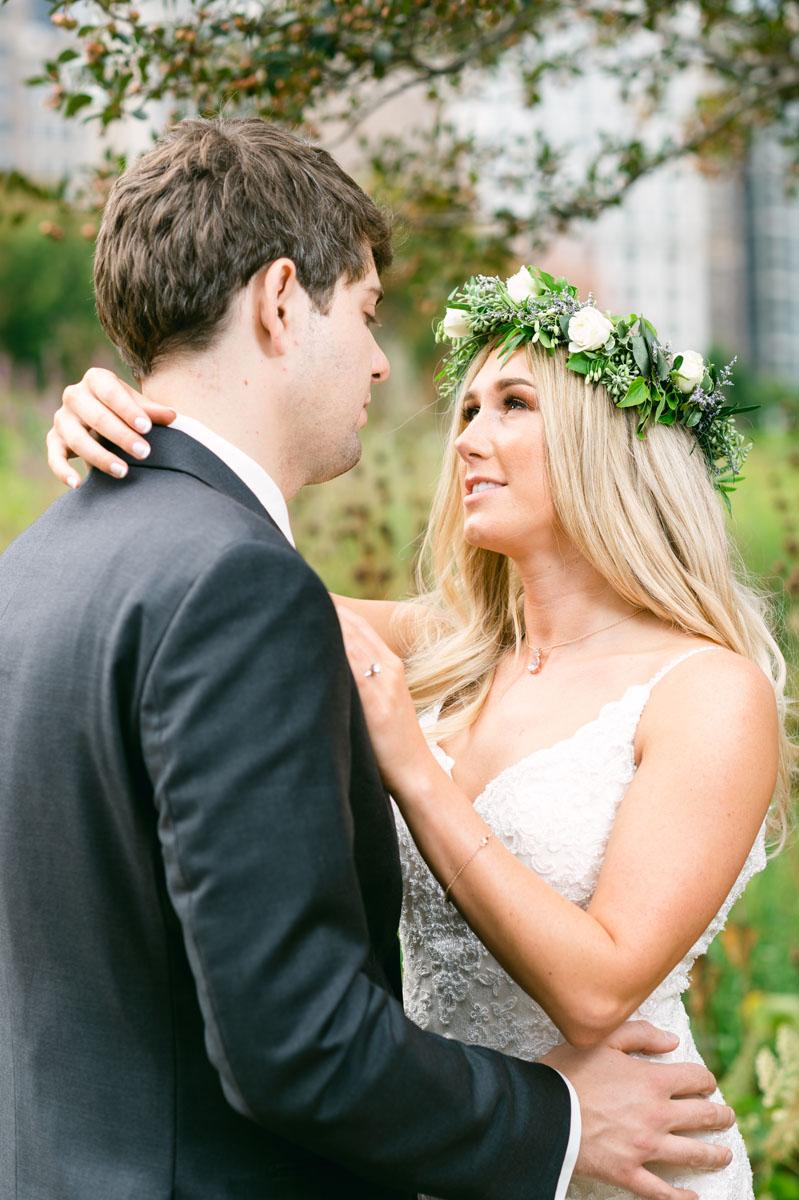 Millennium Park Wedding Photo