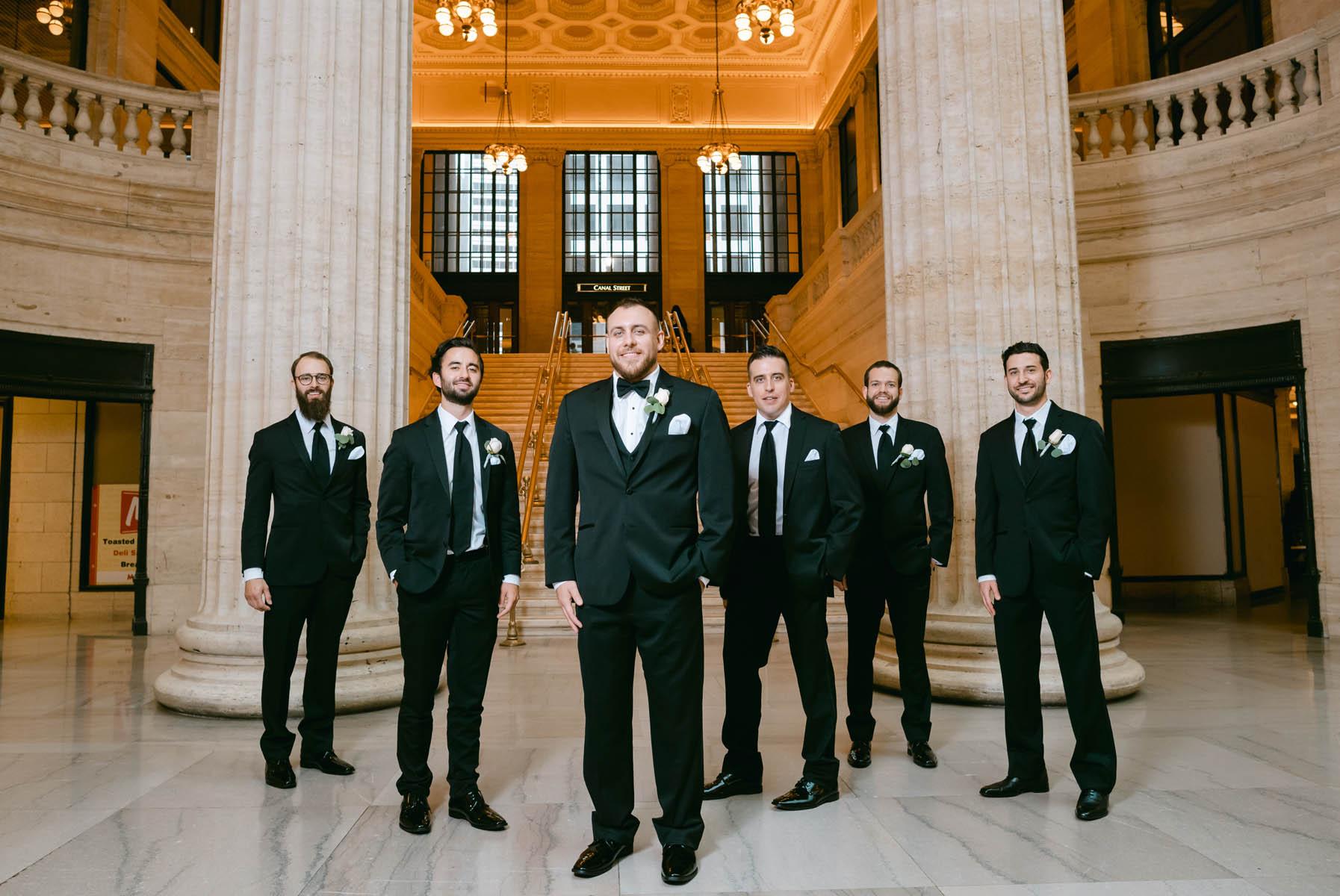 Union Station Wedding Photo