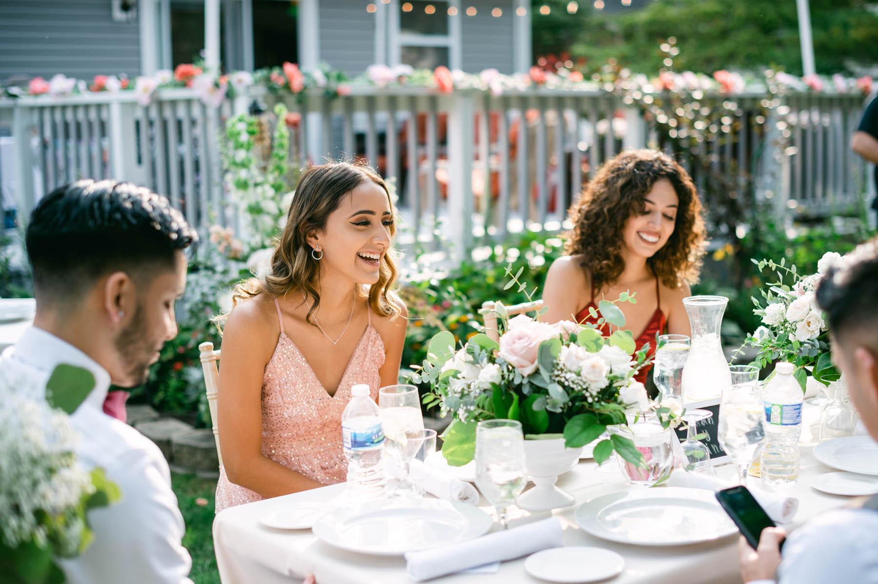 chicago backyard wedding