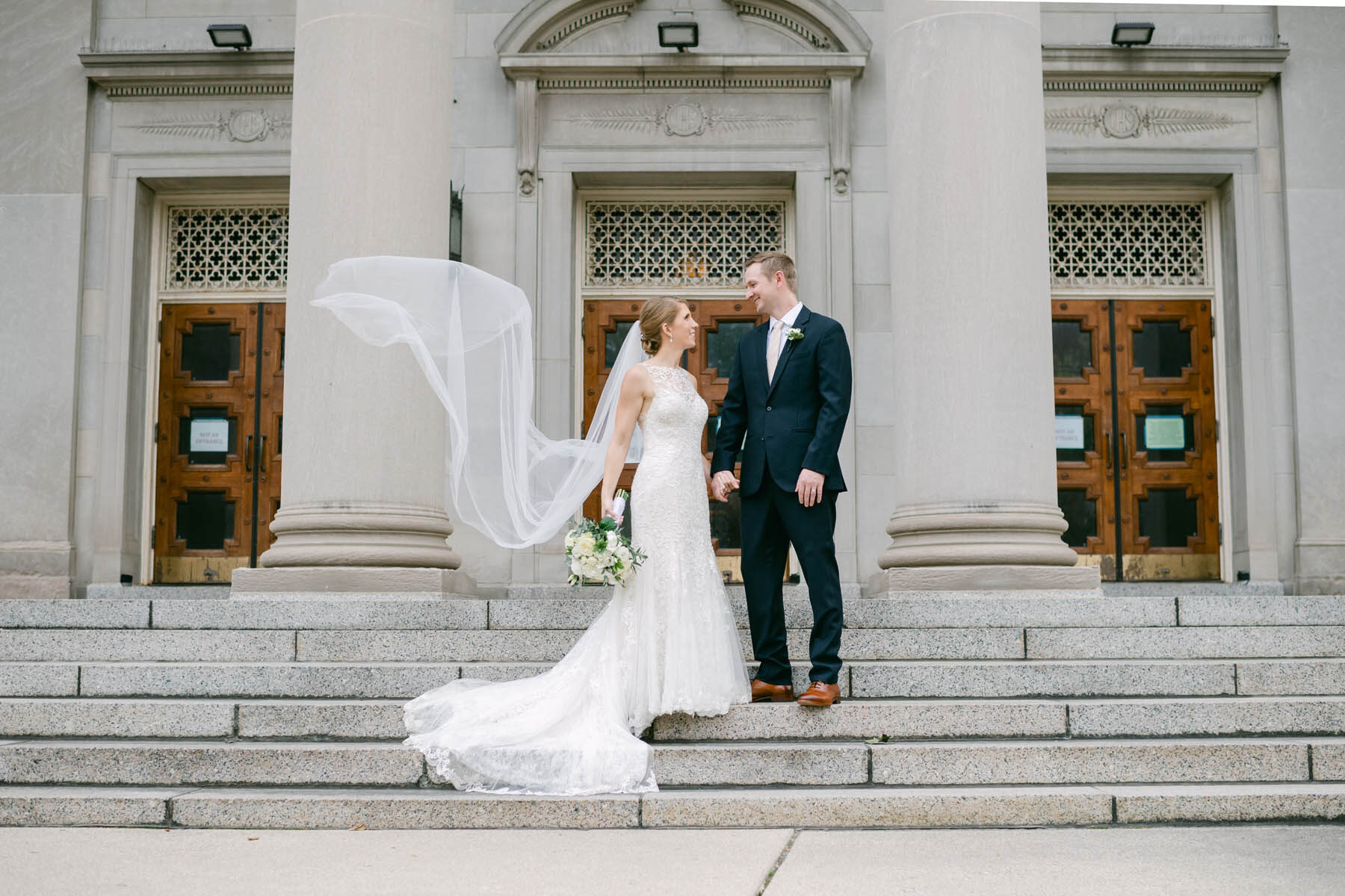 chicago bride + groom