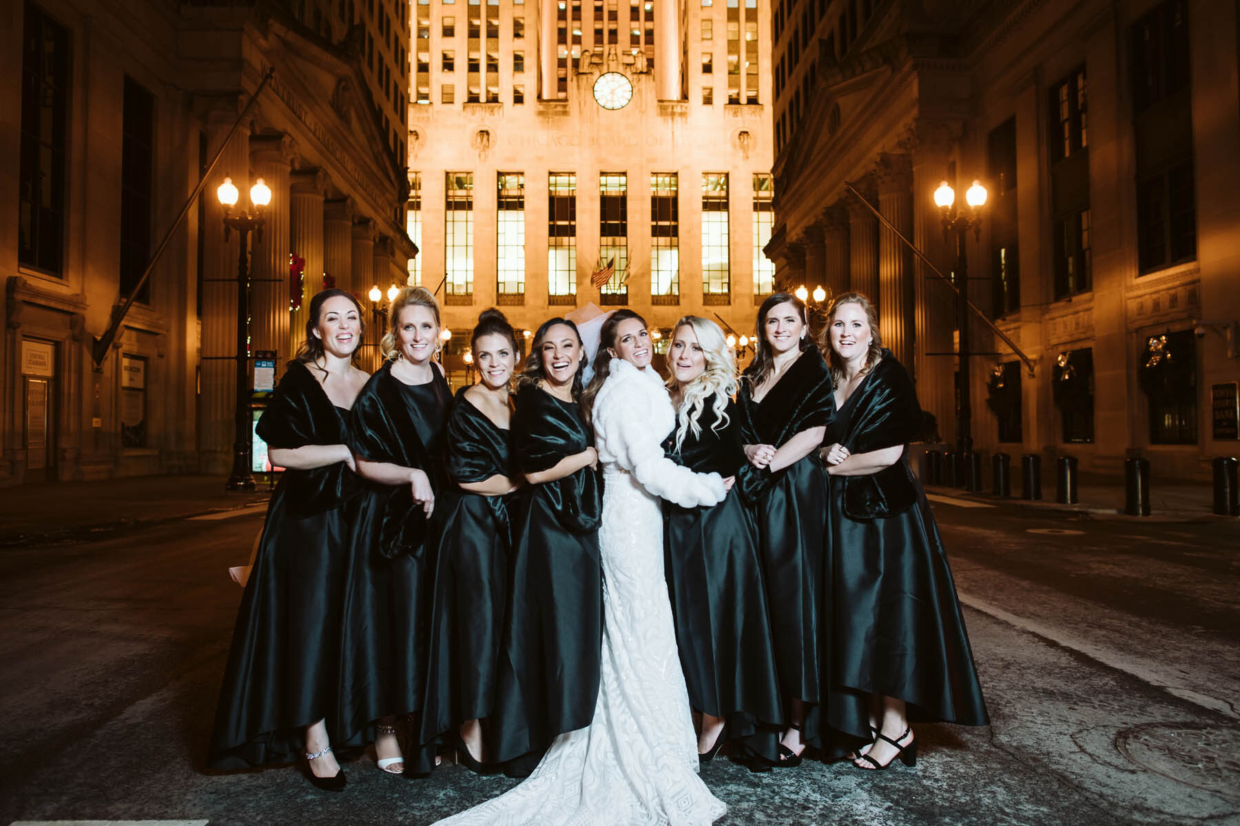 chicago board of trade night wedding