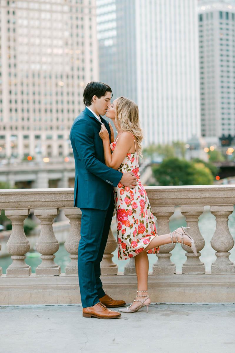 Chicago Engagement Photo