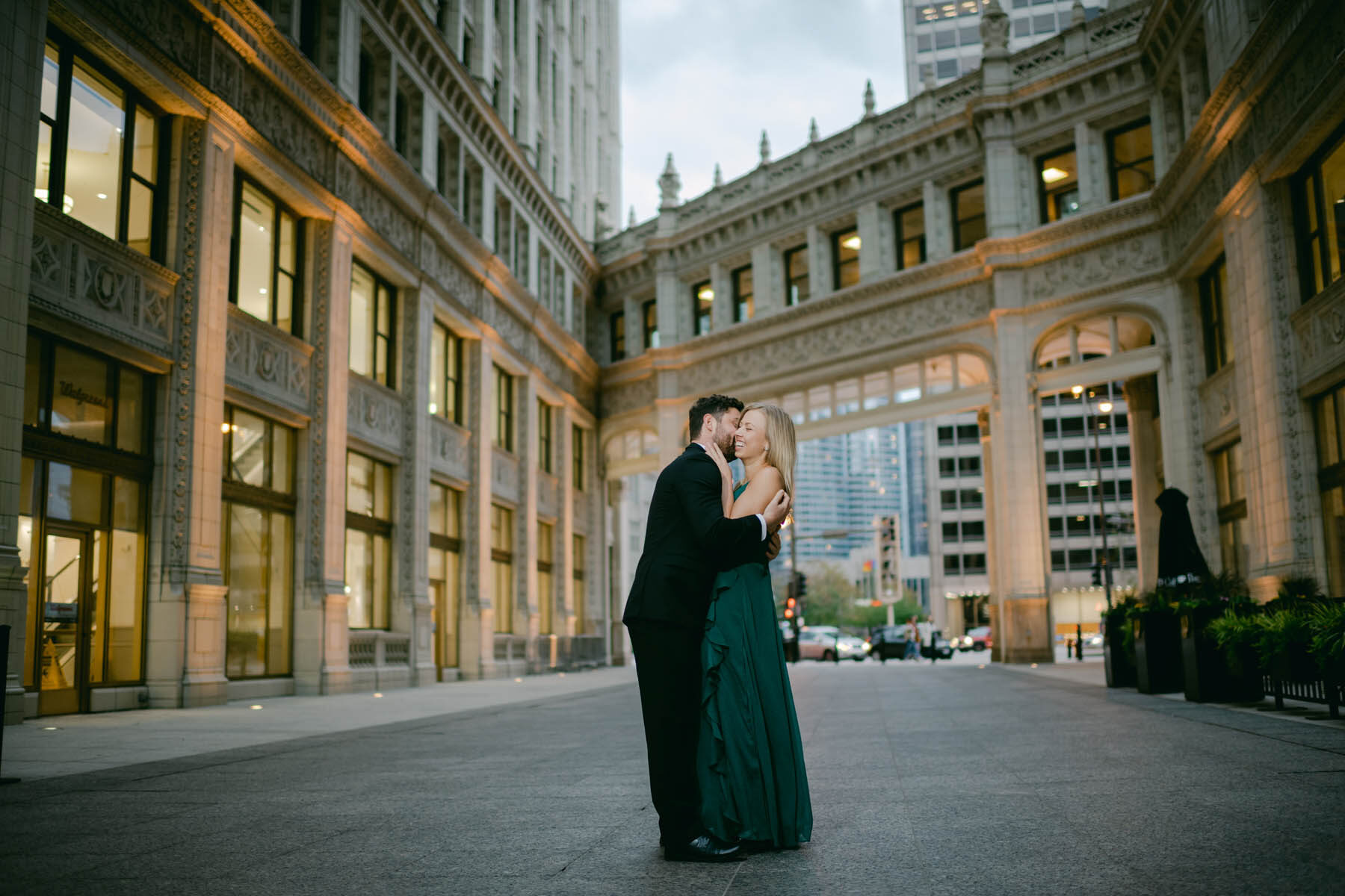 Chicago Wrigley Building Engagement