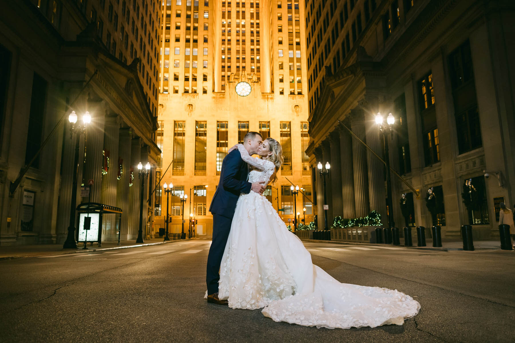 Chicago Board of Trade Wedding
