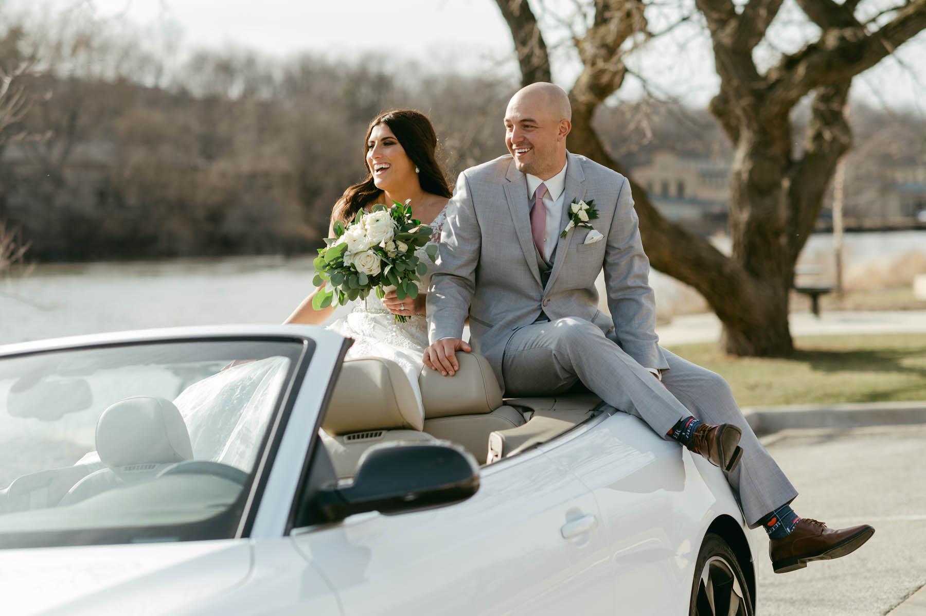 Bride + Groom Car