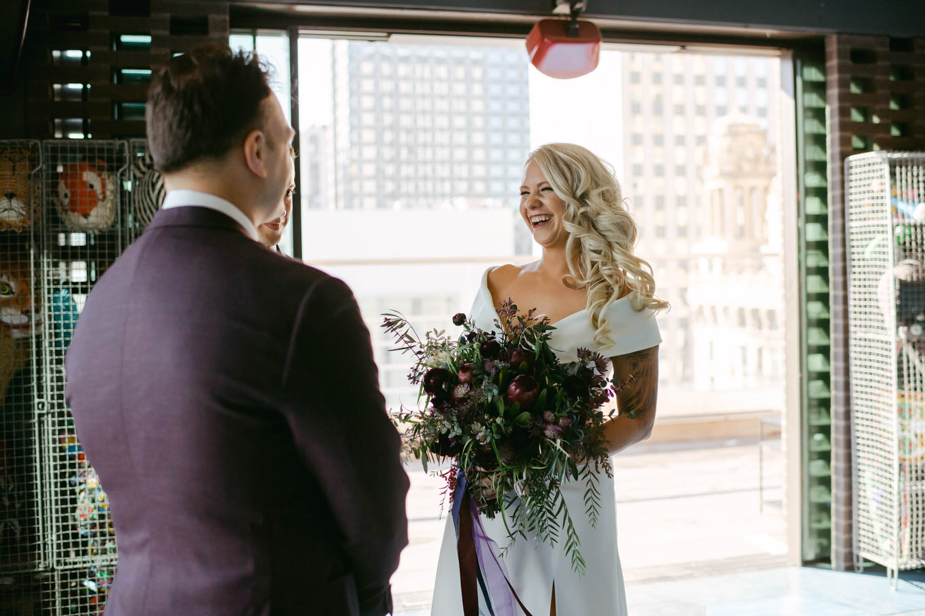 Virgin Hotel Wedding Ceremony