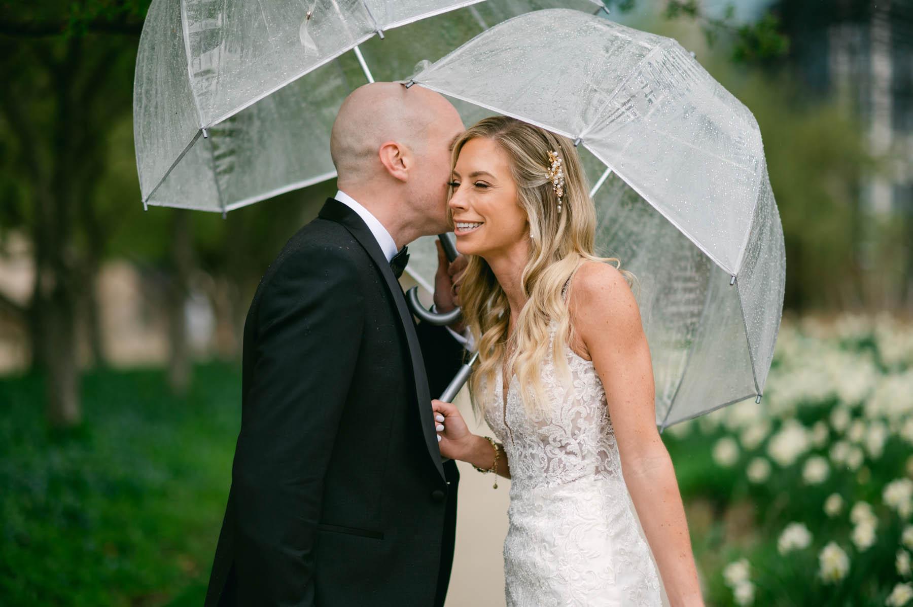 Chicago Rainy Wedding