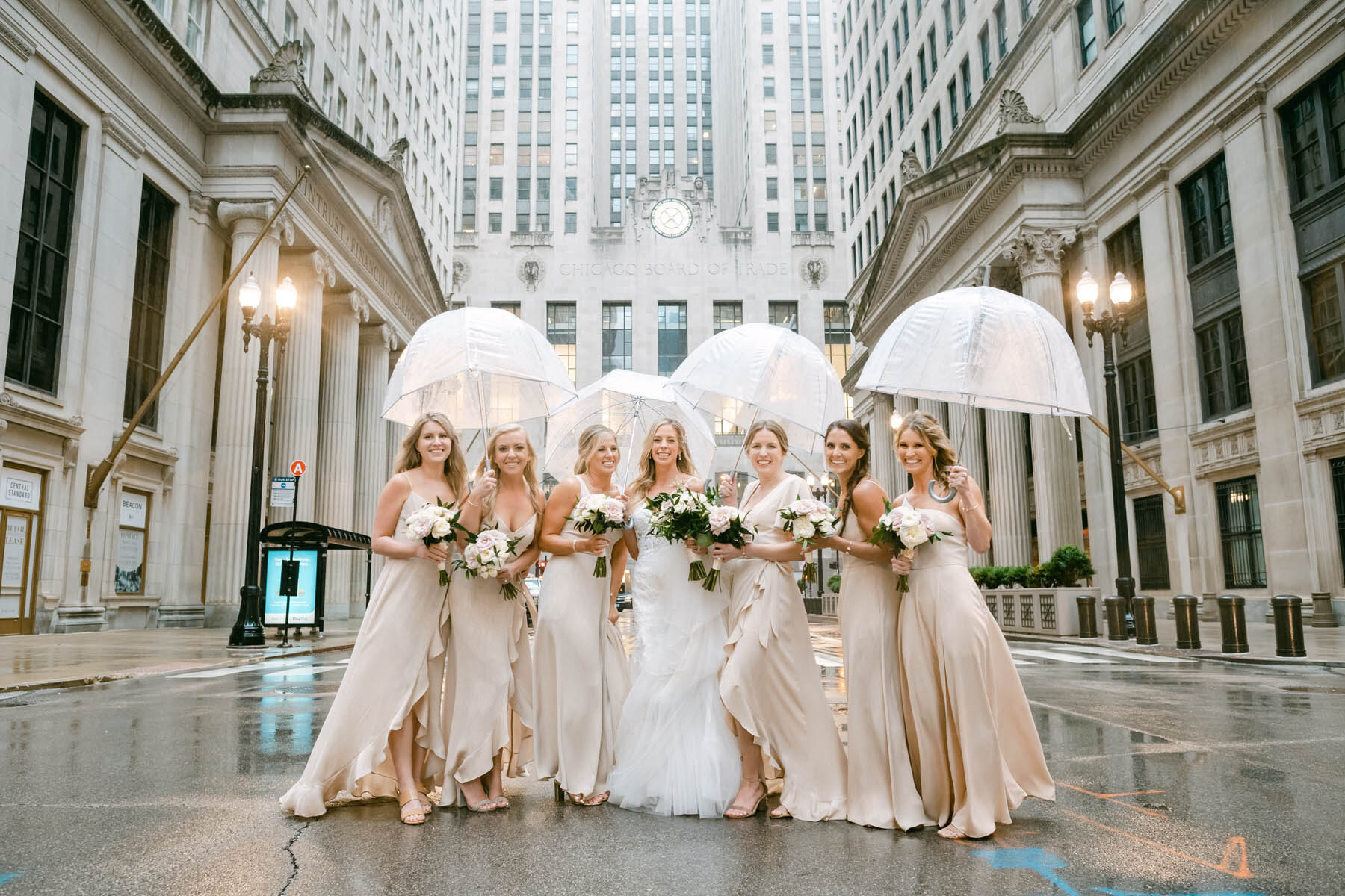 Bridesmaids Chicago Board of Trade