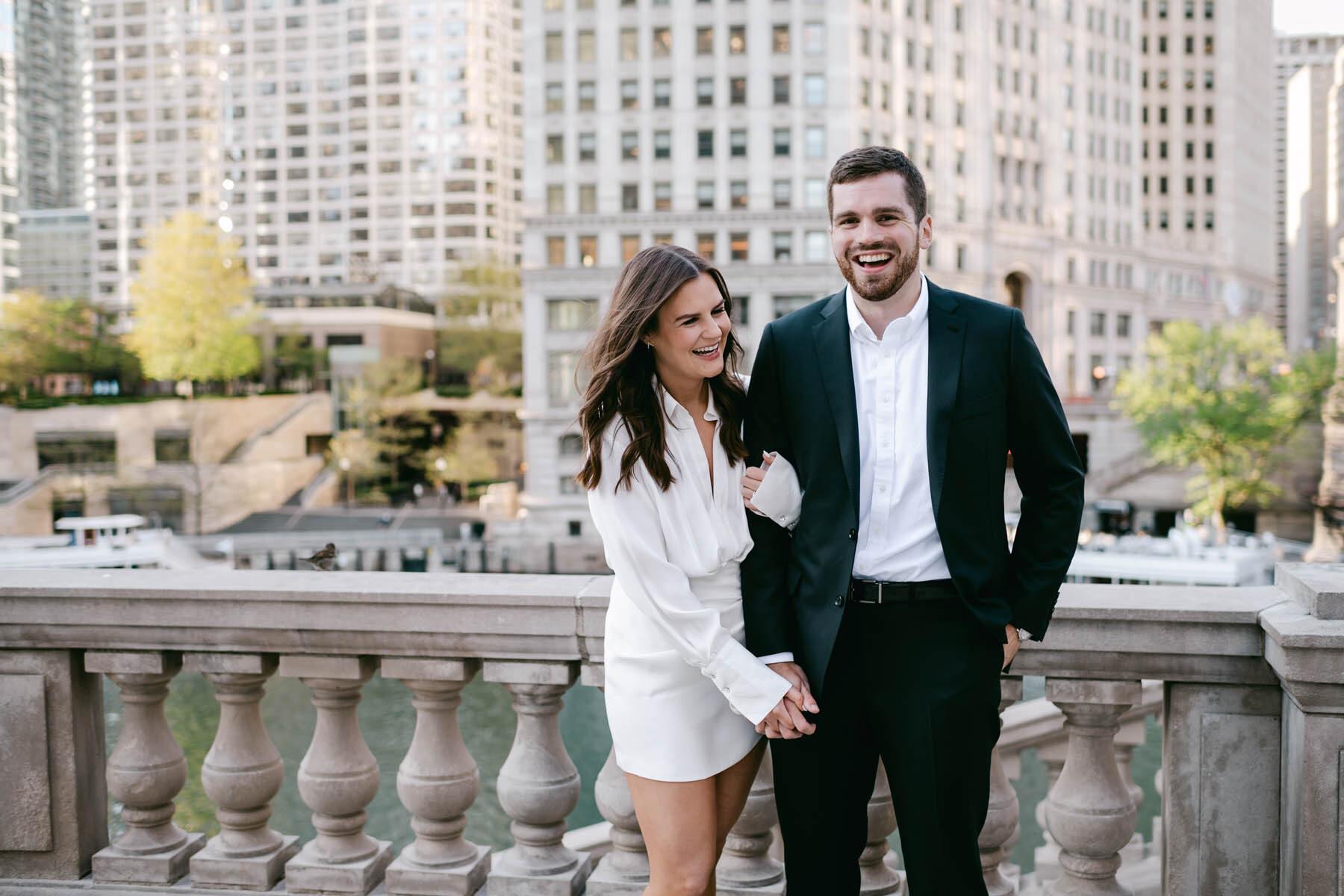 Chicago Wrigley Building Engagement