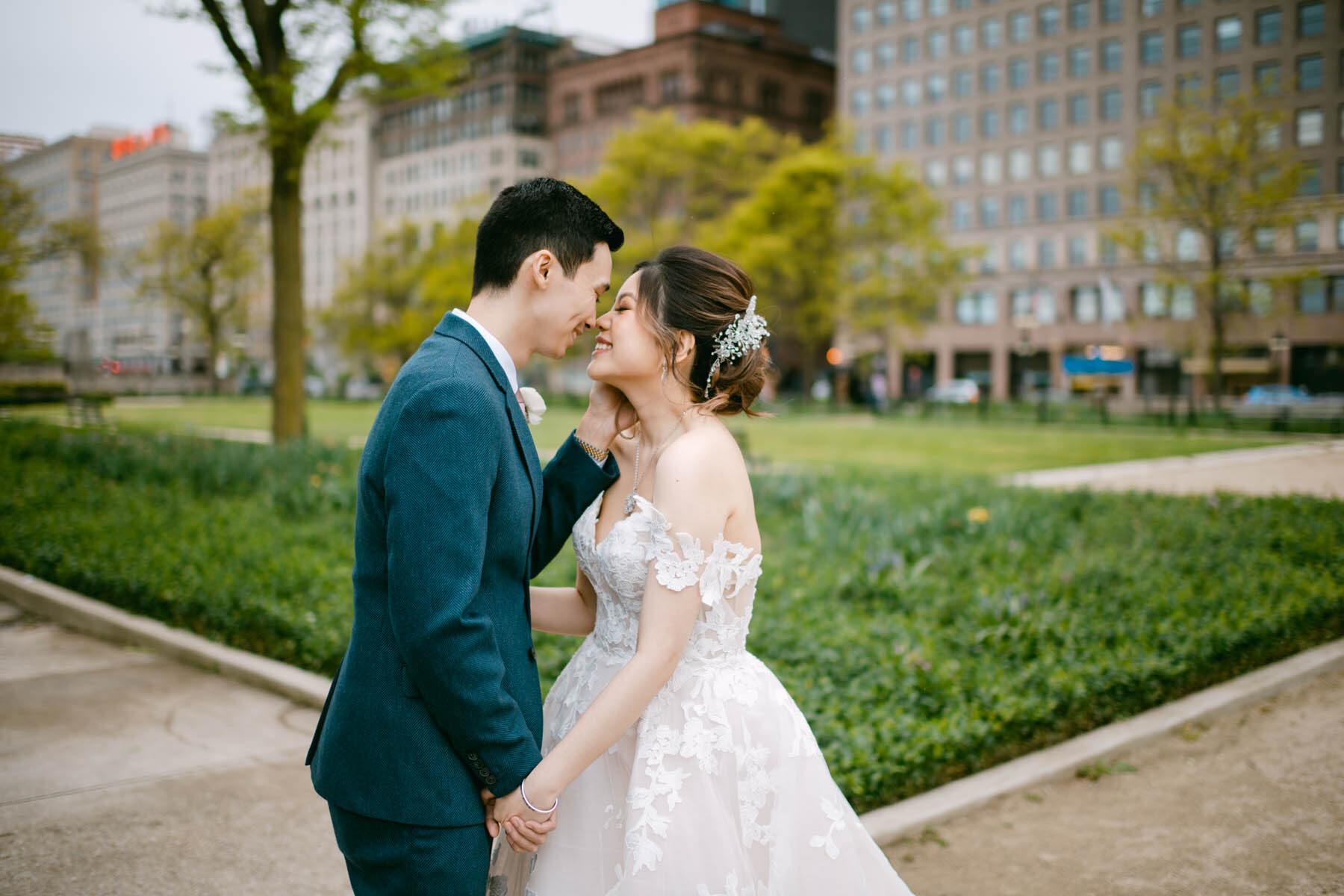 Grant Park wedding