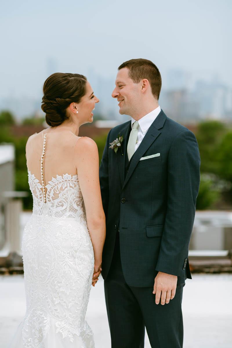 Walden Chicago wedding rooftop