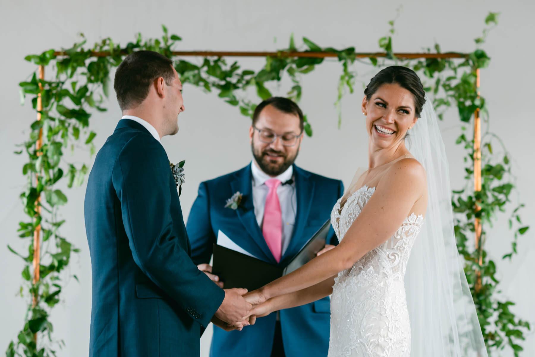 Walden Chicago wedding ceremony