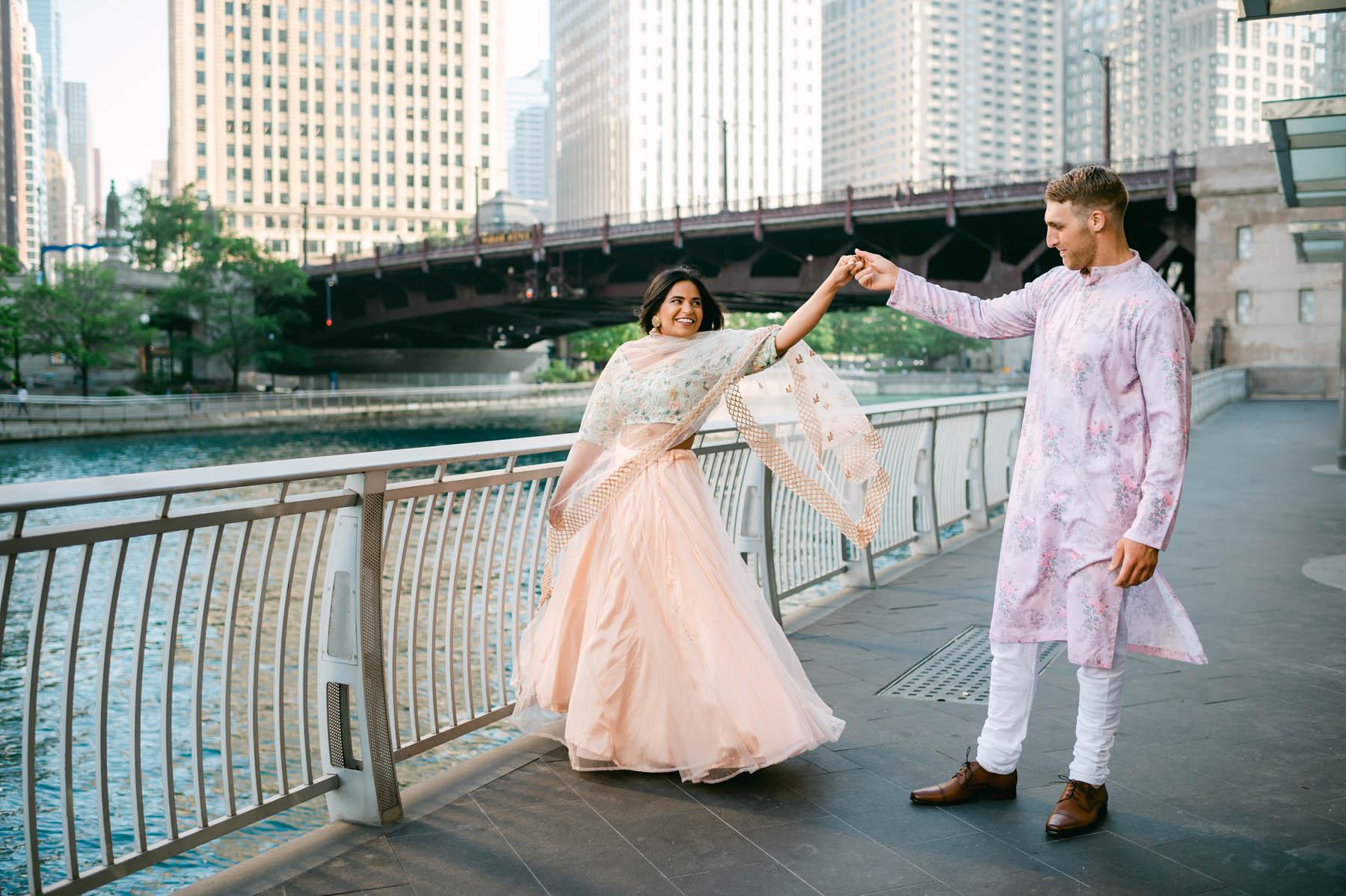 Indian engagement shoot