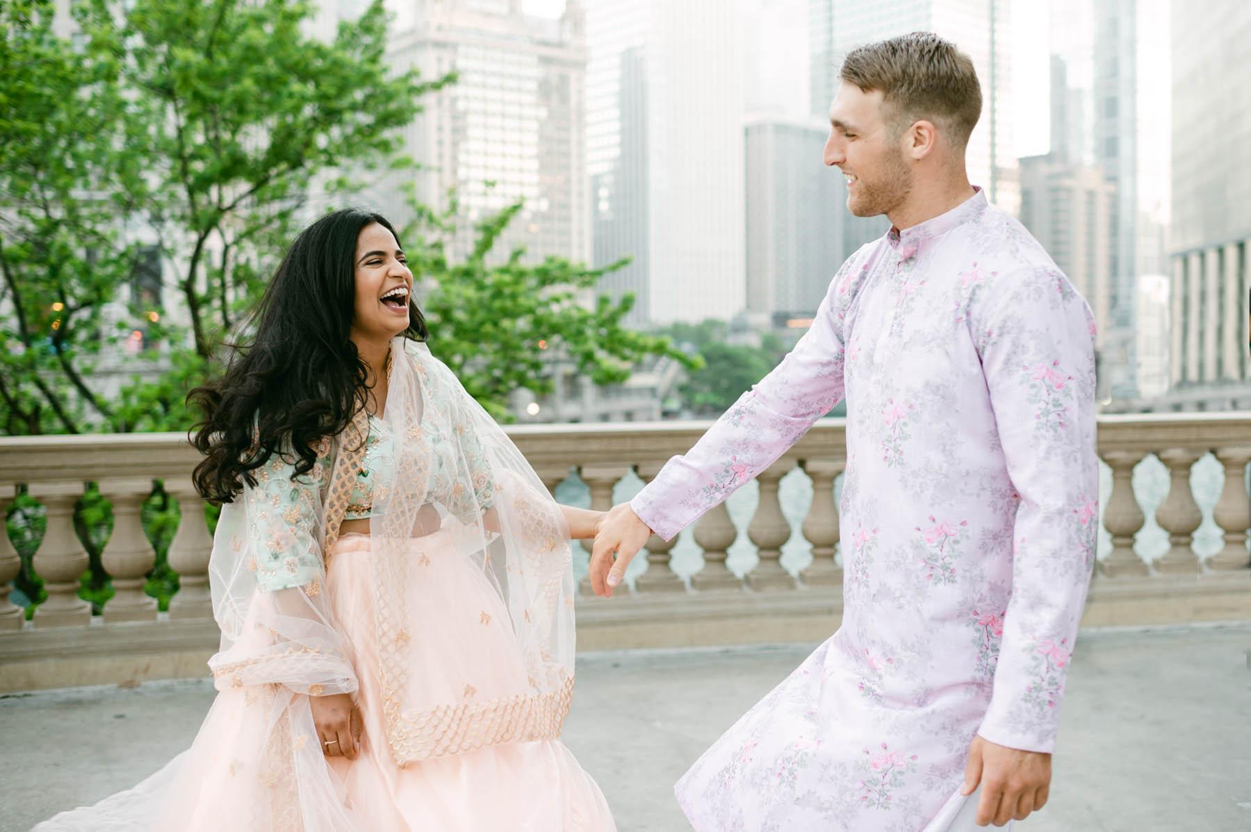 Indian Engagement Photo