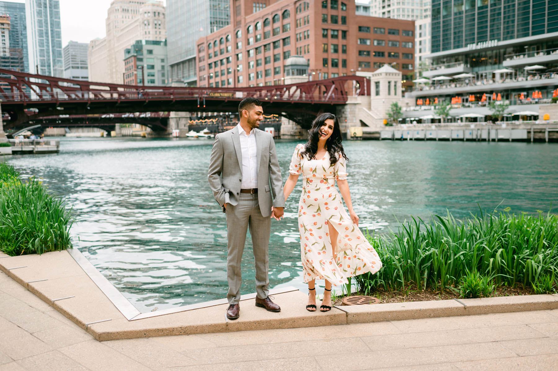 Chicago Spring Engagement