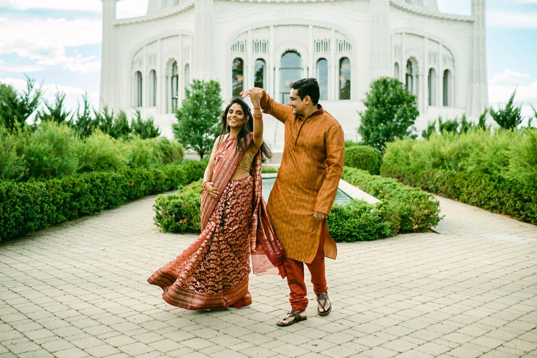 Bahai Temple Wedding