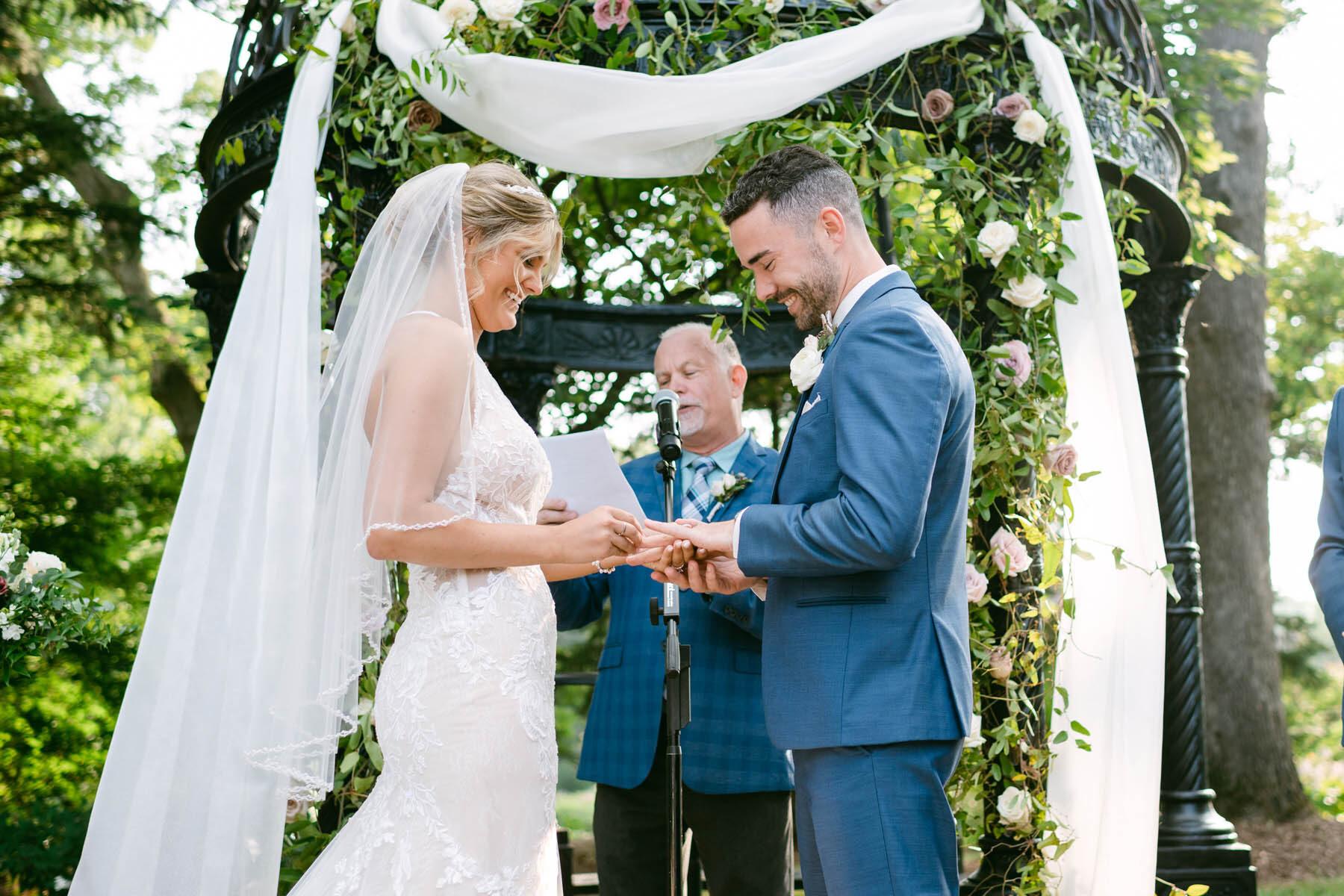 Monte Bello wedding ceremony