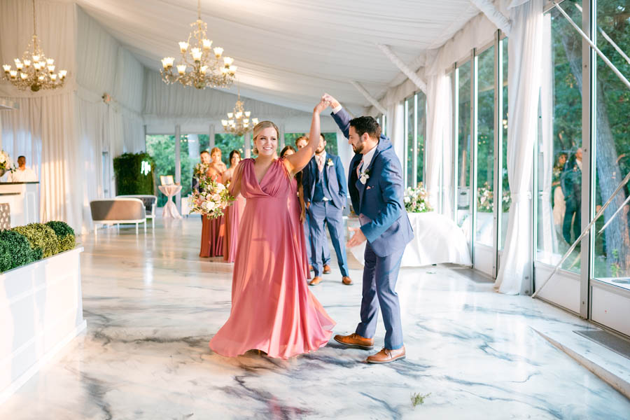 bridal party introductions