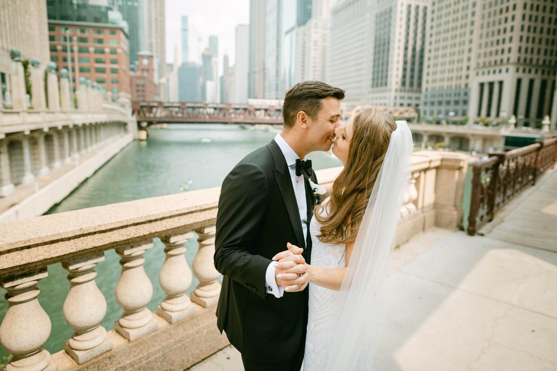 Chicago Riverwalk wedding