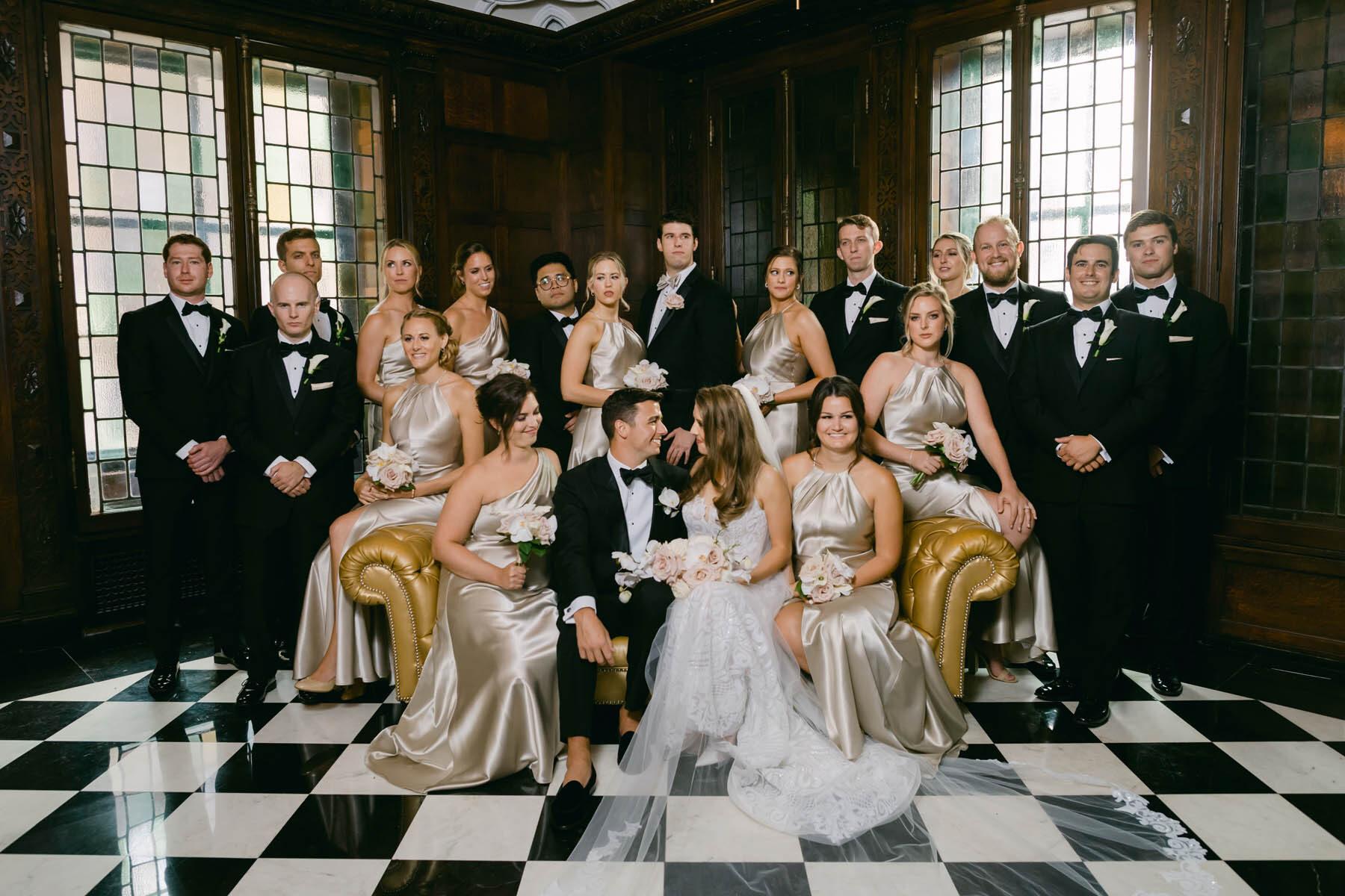 Blackstone Hotel wedding party