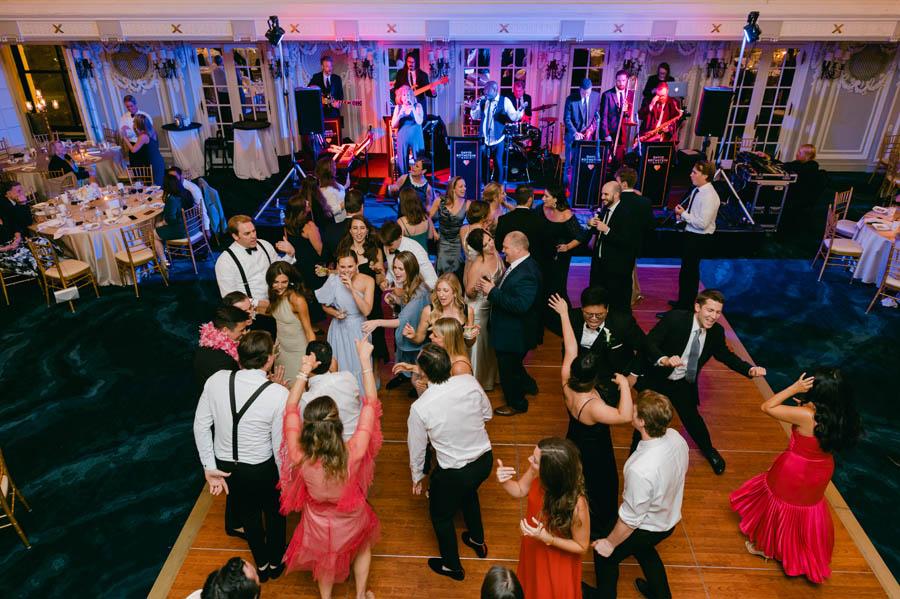 Blackstone Hotel wedding reception