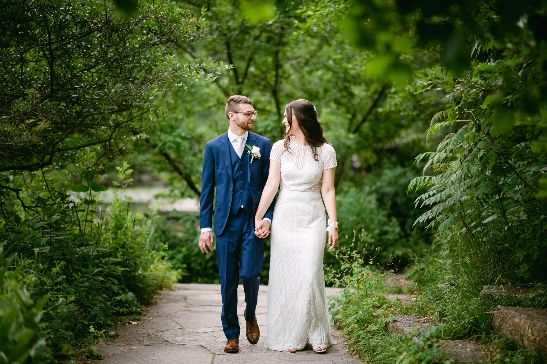 Lilly pond wedding