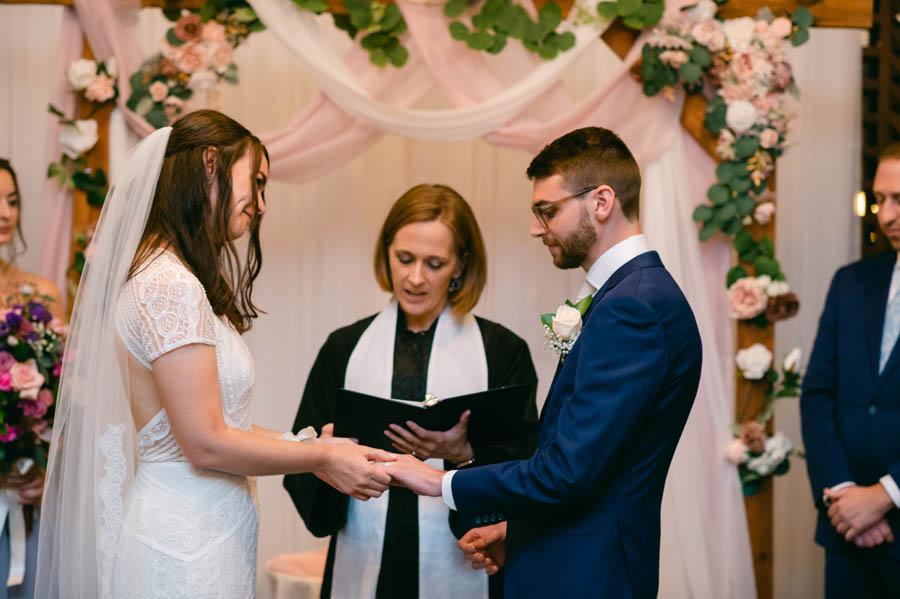 Salvatore's wedding ceremony