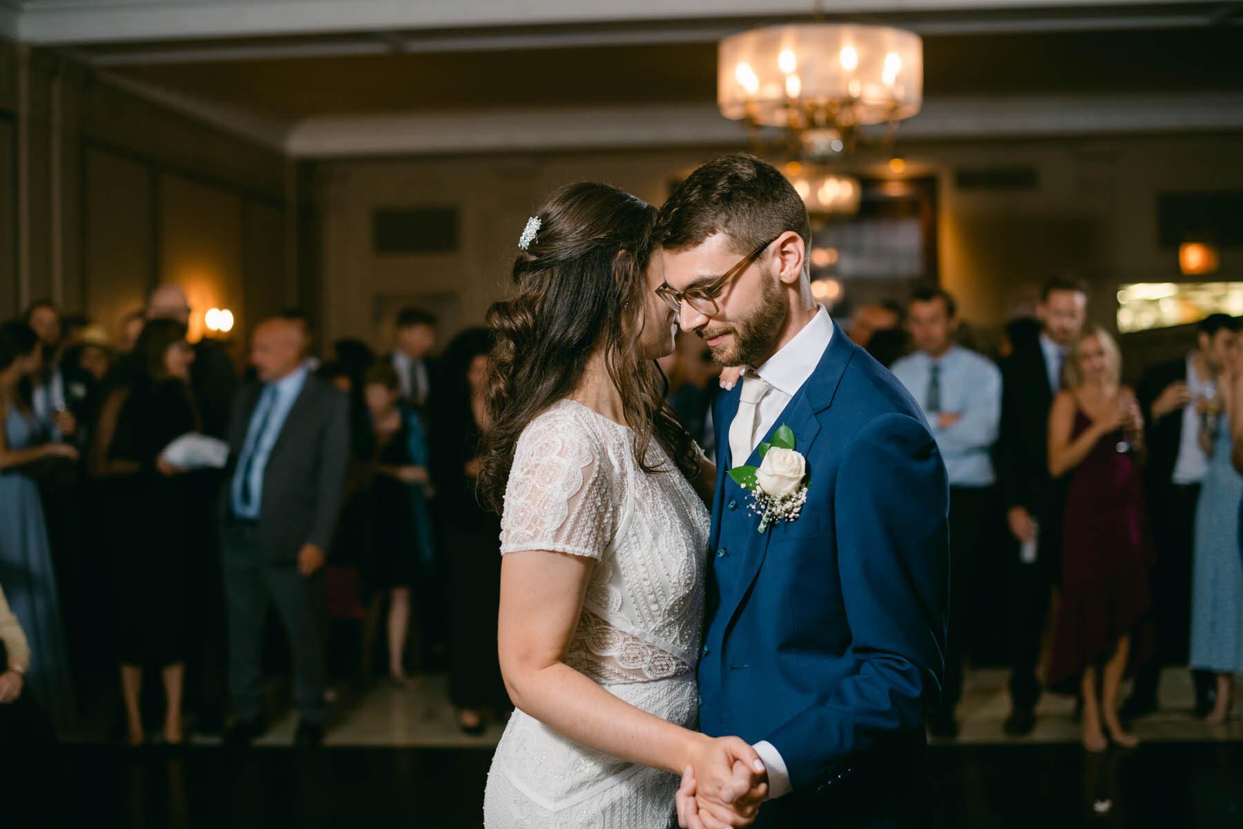 Salvatore's wedding first dance
