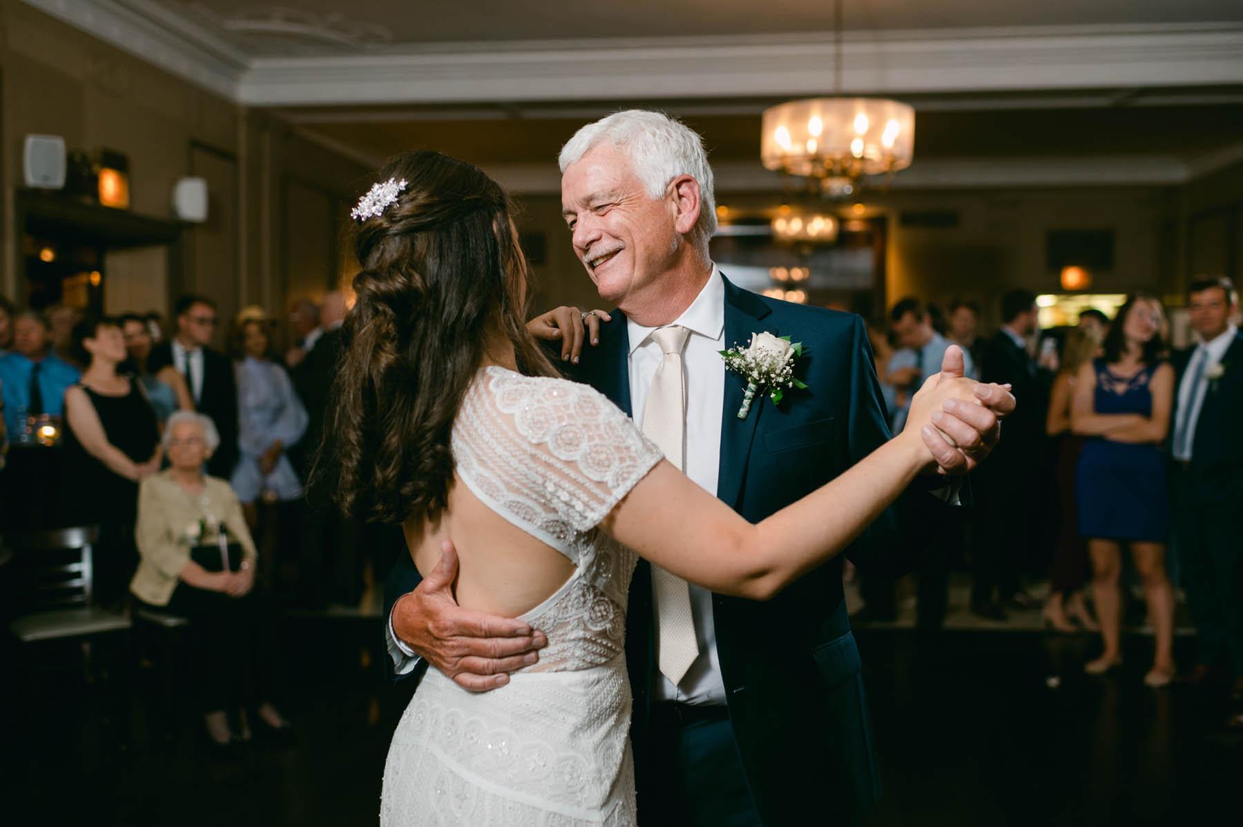 Salvatore's wedding father daughter first dance