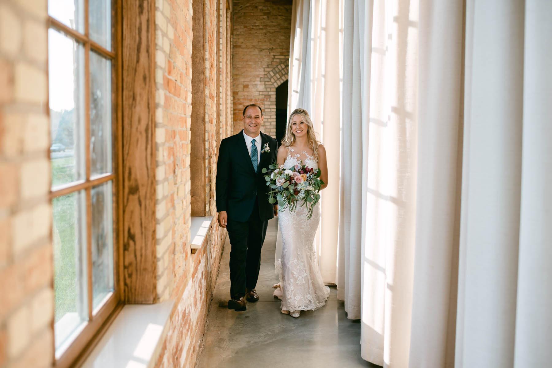The Brix wedding ceremony