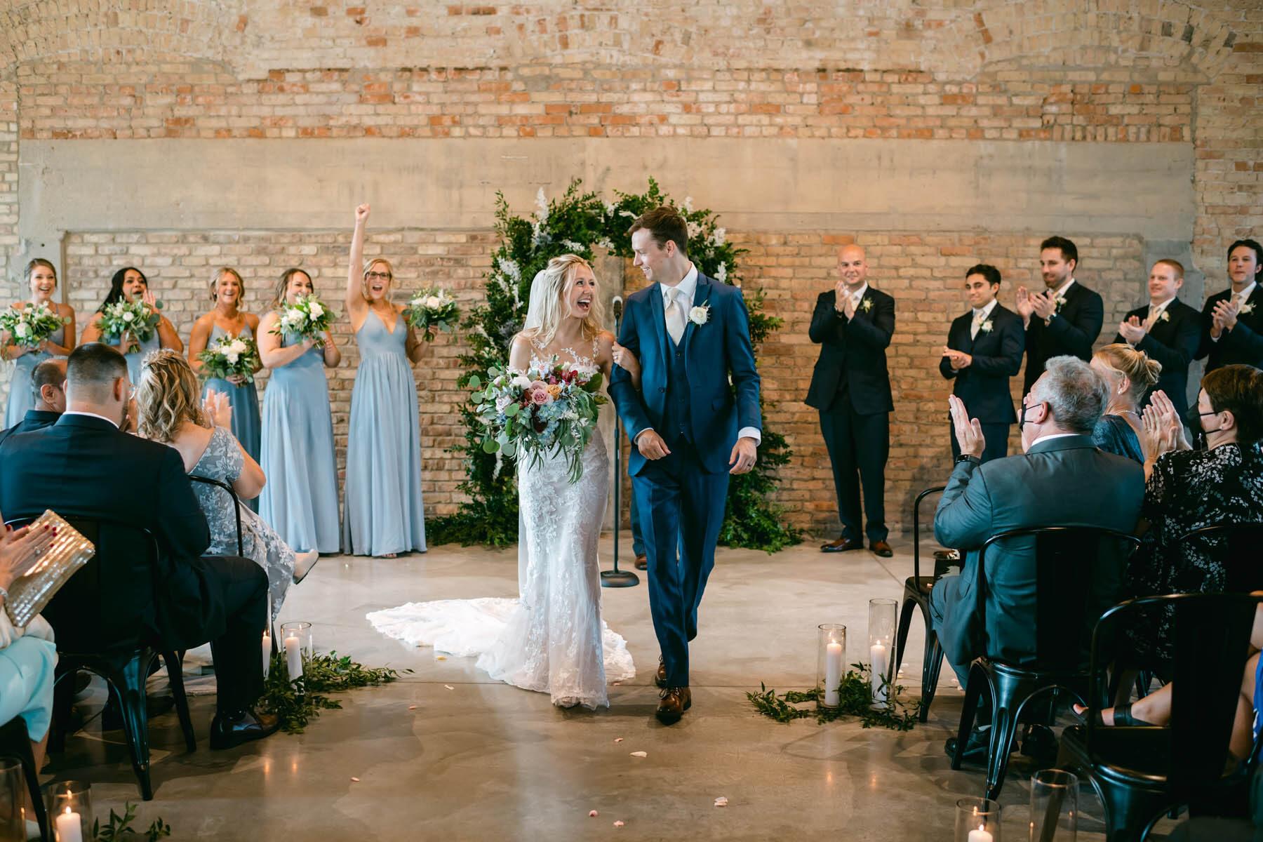 Brix wedding ceremony