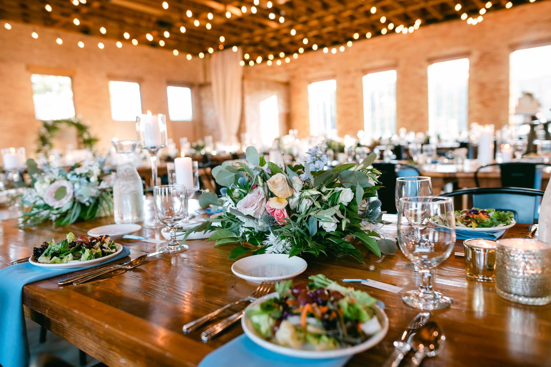 Brix wedding reception