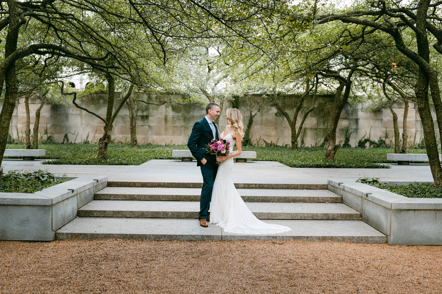Chicago light and airy wedding photography